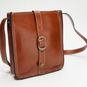 PATRICIA NASH Venenzia Leather Crossbody Pouch✨NWT